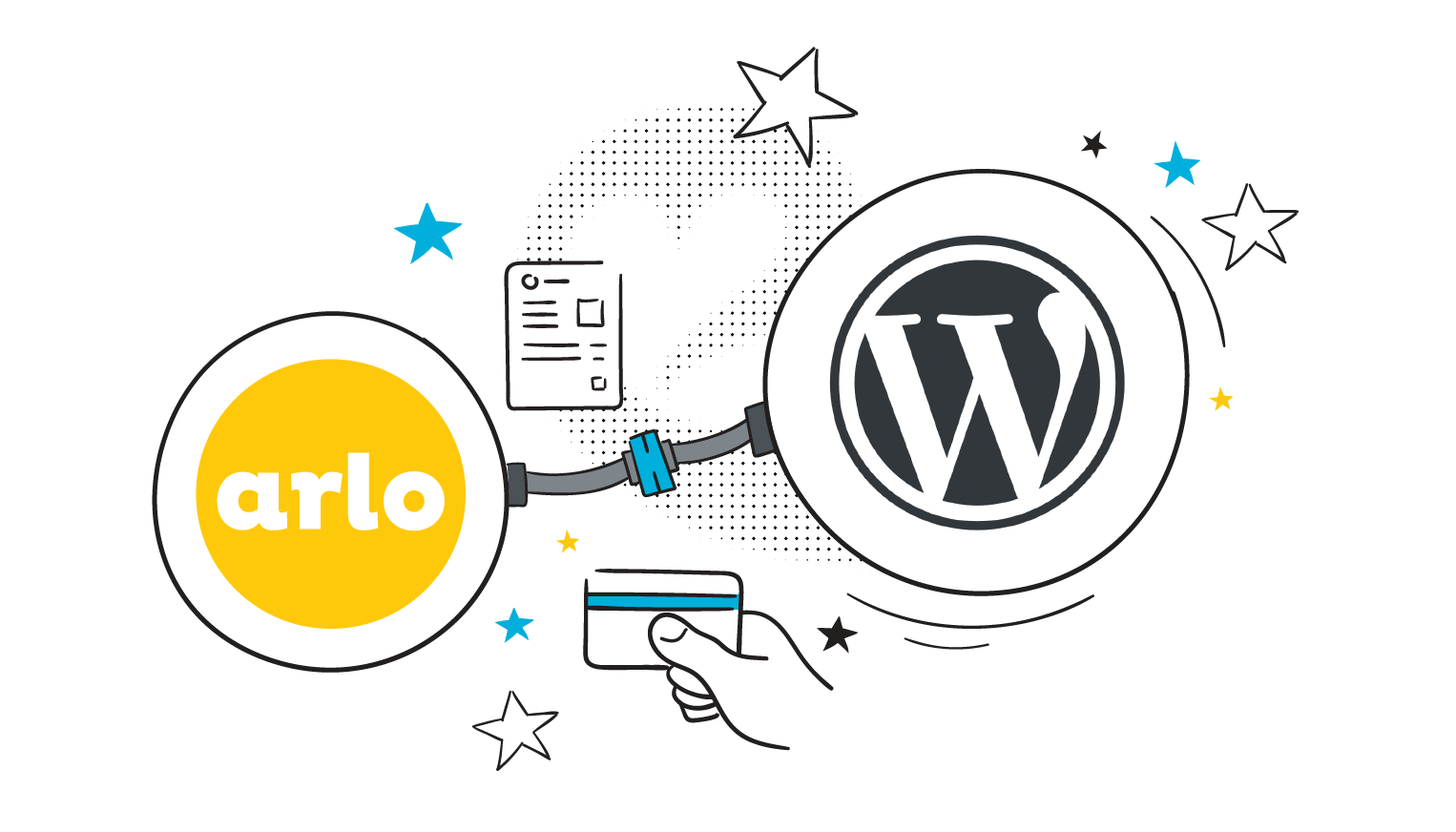 Arlo's WordPress plugin lets you integrate Arlo with your WordPress website.
