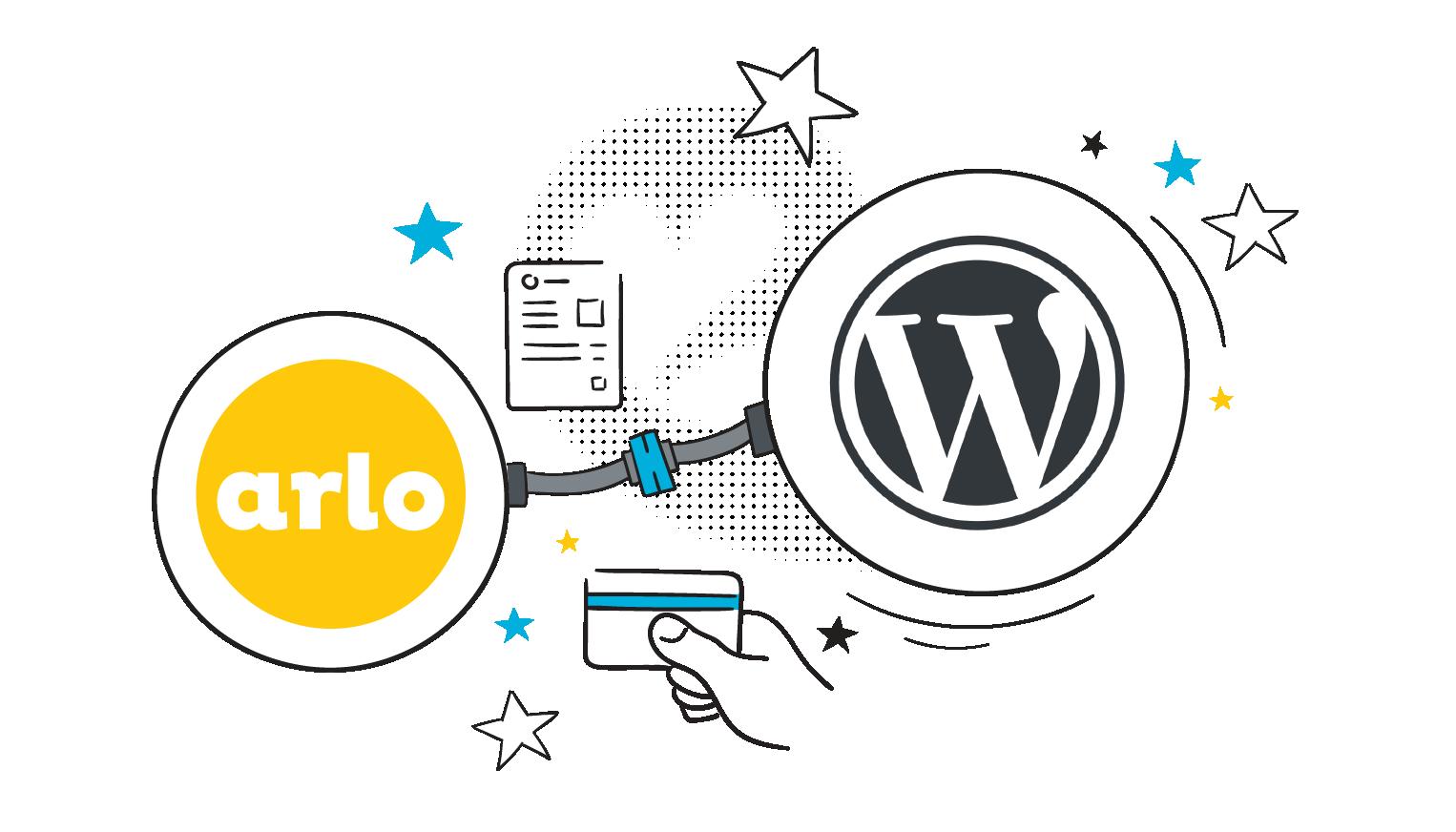 Arlo's WordPress plugin lets you integrate Arlo with your WordPress website.