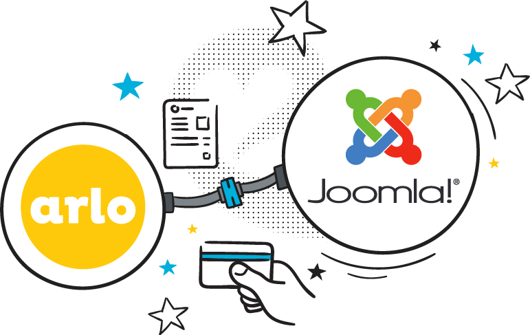 Logo for Joomla website training and event managment addon