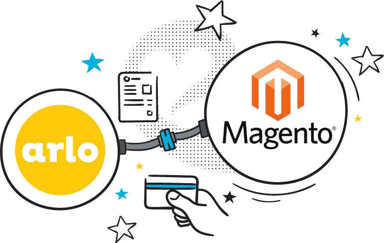 Logo for magento training event app